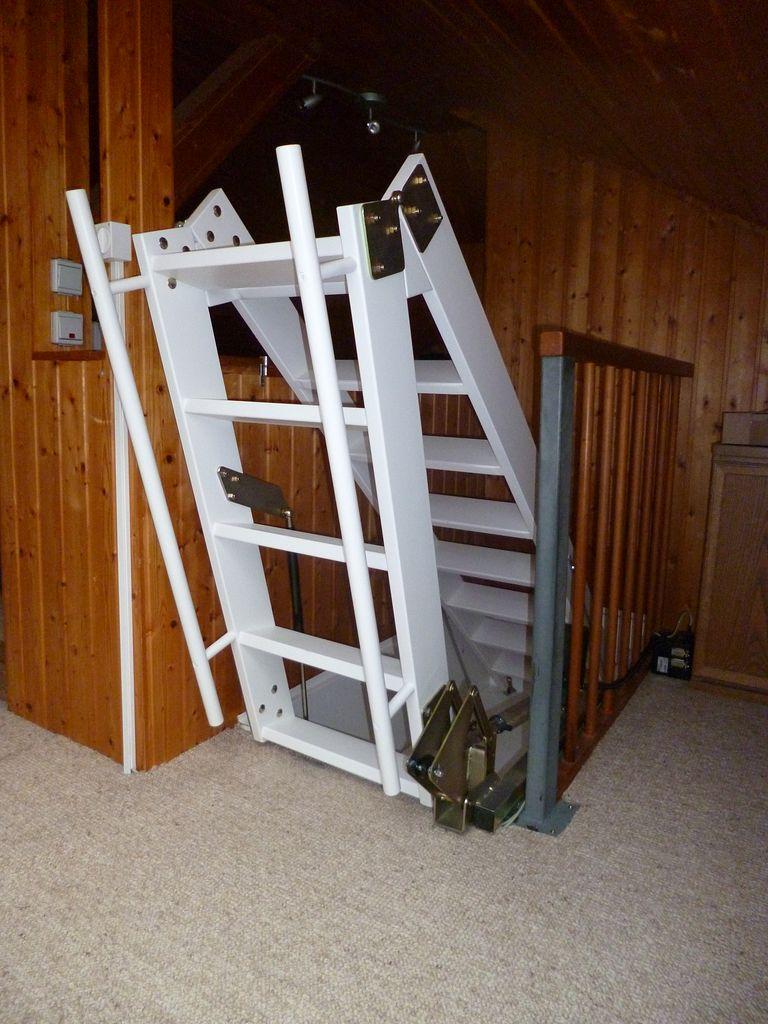 motorangetriebene dachbodentreppen - jowi holz-innenausbau gmbh