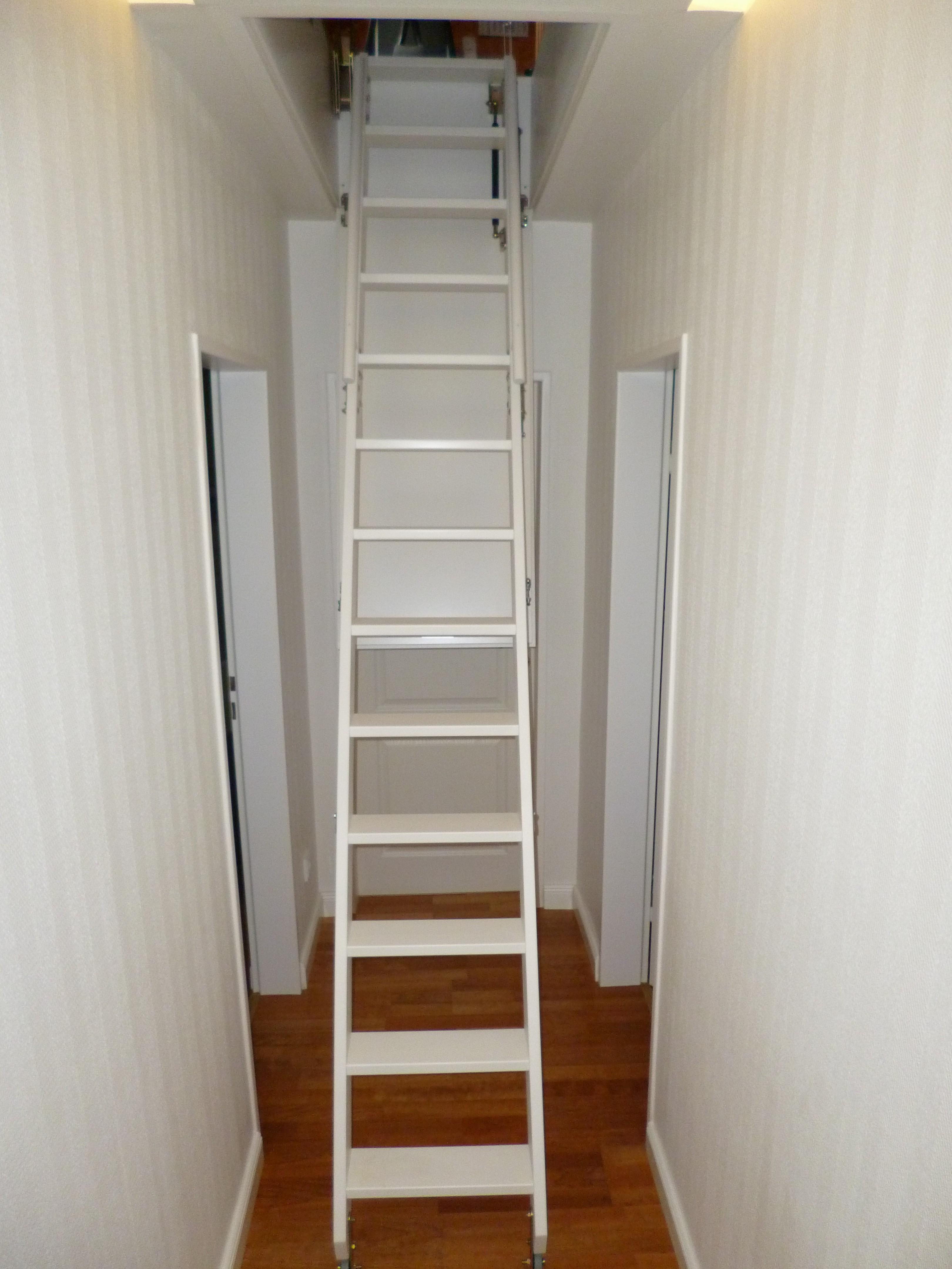 elda bt2 vollautomatische dachbodentreppe - jowi holz-innenausbau